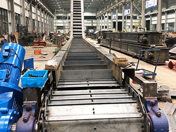 板链式槽板输送机