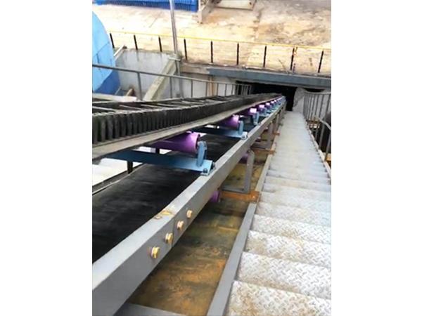 美欣达长和热电输渣系统(平皮带和大倾角皮带运用)