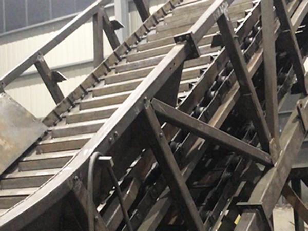 诸暨八方电厂链板式输送机运用